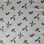 Sophie Allport Holly and Berries Fabric